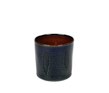 Serax TDR Beker Cylinder Hoog Dark Blue/Rust