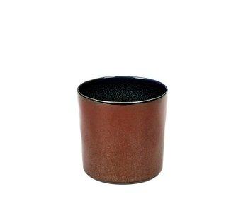 Serax TDR Beker Cylinder Hoog Rust/Dark Blue
