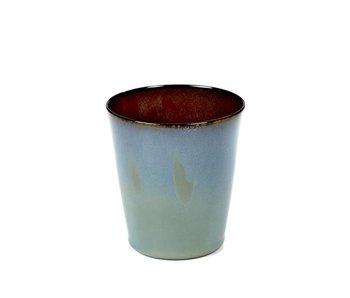 Serax TDR Beker Conisch M Smokey Blue/Rust