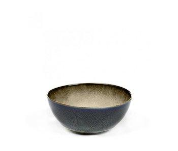 Serax TDR Kom Misty Grey/Dark Blue 10,8 cm