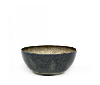 Serax TDR Kom Misty Grey/Dark Blue 13,7 cm