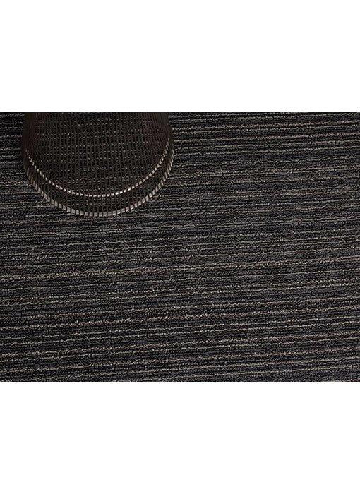 Chilewich Shag Mat Skinny Stripe Steel 61/91 cm