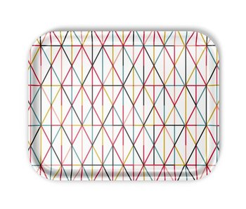 Vitra Tray Large Grid Multicolor