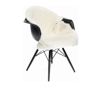 Natures Collection New Zealand Sheepskin Short Wool Curly Ivory 90