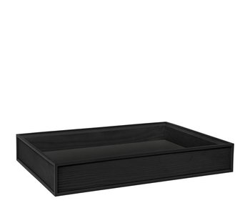 By Lassen Frame Tray Black Stained Ash UIT
