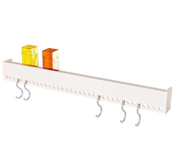 Nomess So-Hooked Wall Rack 90 White