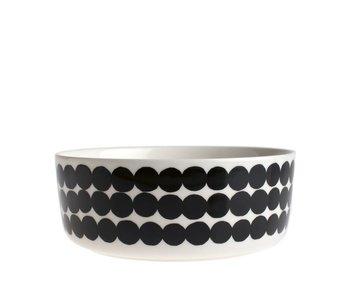 Marimekko IGC Oiva Siirtolapuutarha Bowl White/Black 1,5 l