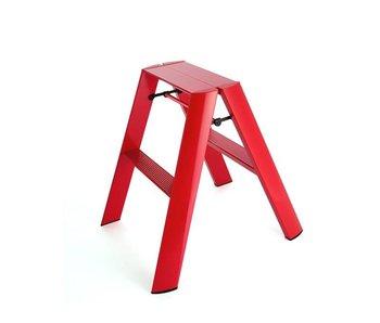 Hasegawa Lucano ML 2 Step Ladder Red