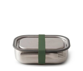 Black+Blum Stainless Steel Lunch Box Large Olive