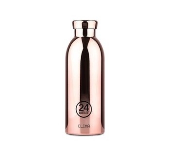 24 Bottles Clima Bottle 500 ml Rose Gold