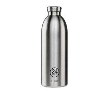 24 Bottles Clima Bottle 850 ml Steel