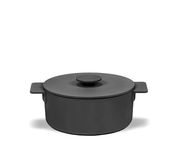 Serax Surface Pot Cast Iron Black 23 cm