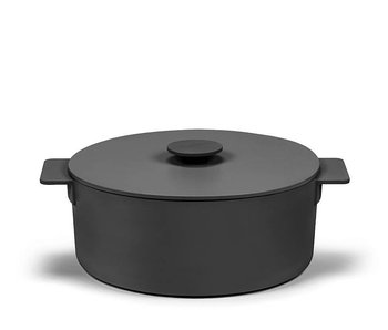 Serax Surface Pot Cast Iron Black 29 cm