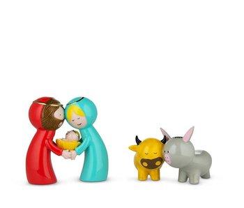 Alessi Happy Eternity Baby 2 Figurines