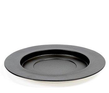 Serax San Pellegrino Underplate Large Black