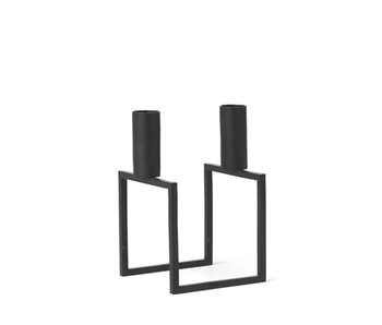 By Lassen Line Candle Holder Black