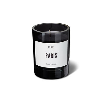 Wijck Scented Candle Paris Smokey Black