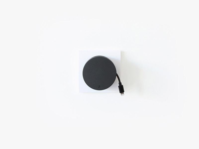 USBepower Aero Mini Compact Hub 2 In 1 Black