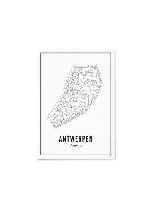 Wijck Poster Antwerp Centre 30/40