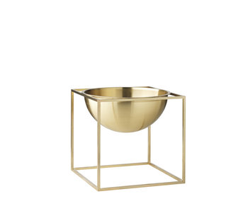By Lassen Kubus Bowl Small Brass