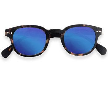 Izipizi Sunglasses #C Tortoise Mirror +0