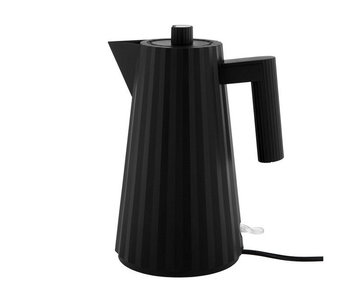 Alessi Plissé Electric Kettle 1,7 l Black