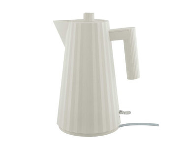 Alessi Plissé Electric Kettle 1,7 l White