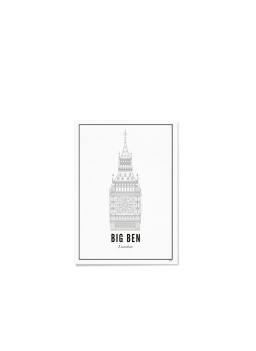 Wijck Poster London Big Ben 21/30