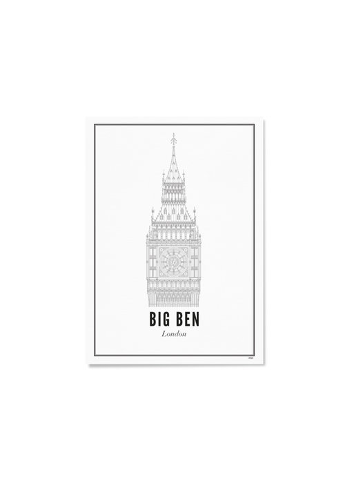 Wijck Poster London Big Ben 30/40