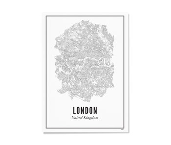 Wijck Poster London City 30/40