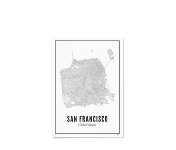 Wijck Poster San Francisco City 21/30