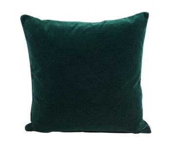 Semibasic Lush Velour Cushion Dark Green