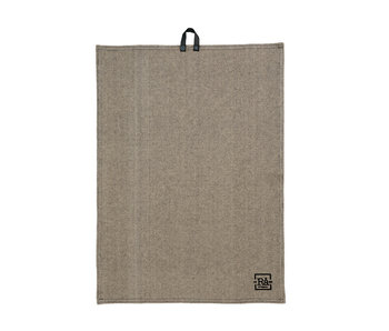 Juna Ra Tea Towel Dark Grey