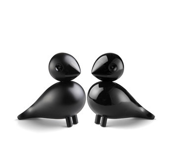 Kay Bojesen Lovebirds Black 2 pcs.