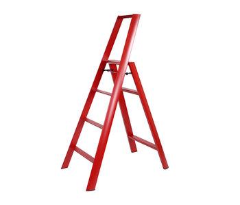 Hasegawa Lucano ML 4 Step Ladder Red