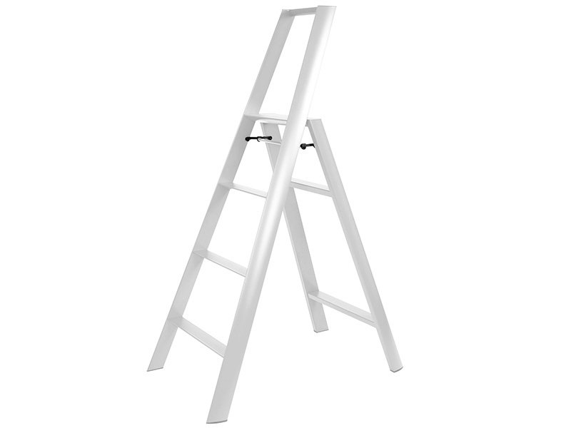 Hasegawa Lucano ML 4 Step Ladder White