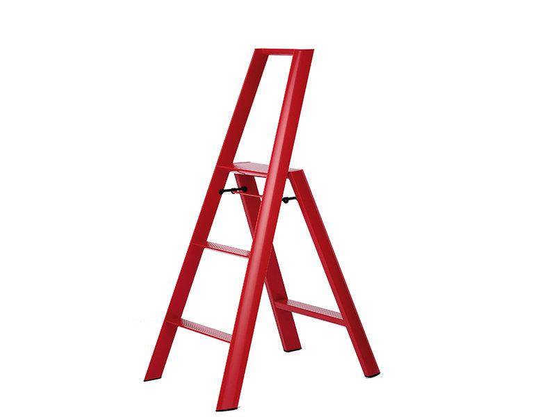 Hasegawa Lucano ML 3 Step Ladder Red