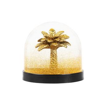 &Klevering Wonderball Palm Tree Gold Glitter
