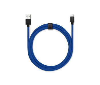 USBepower Evertek XXL Cable 2,5m USB-C Blue