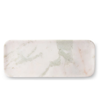 HK Living Marble Tray White/Green/Pink