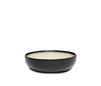 Serax Dé Bord Hoog Off-White/Black VAR D 13 cm