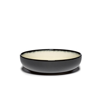 Serax Dé Bord Hoog Off-White/Black VAR D 15,5 cm