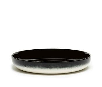 Serax Dé Bord Hoog Off-White/Black VAR B 24 cm