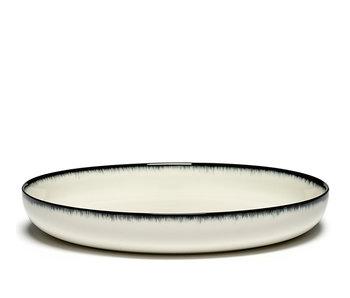 Serax Dé Bord Hoog Off-White/Black VAR A 27 cm
