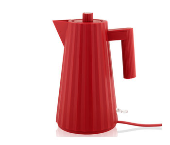 Alessi Plissé Electric Kettle 1,7 l Red