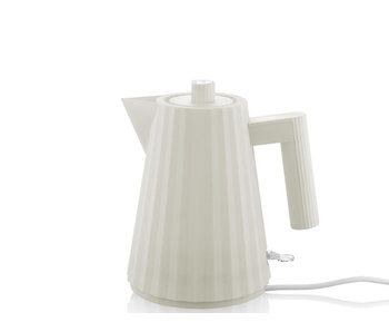 Alessi Plissé Electric Kettle 1 l White
