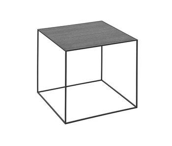 By Lassen Twin 42 Table Black/Cool Grey