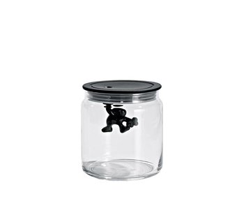 Alessi Gianni Jar 70 cl Black