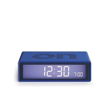Lexon Flip Alarm Clock Blue