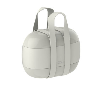 Alessi Food à Porter 3-Compartment Lunchbox Grey